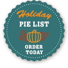 Holiday Pie List