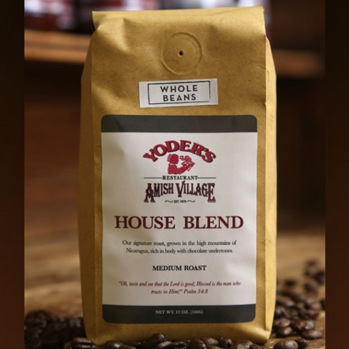 House Blend Ground Whole Bean
