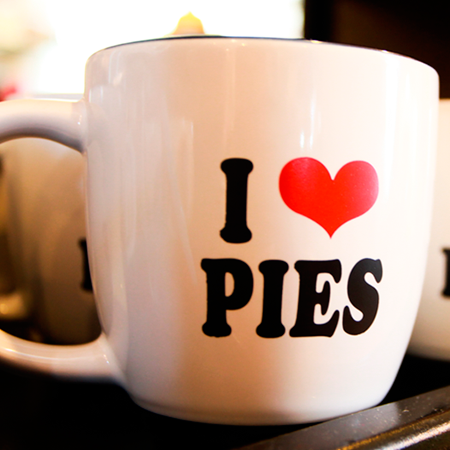 I Love Pies Coffee Mug